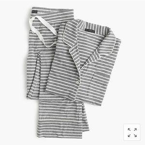 J.Crew Dreamy Cotton Pajamas Striped small Petite